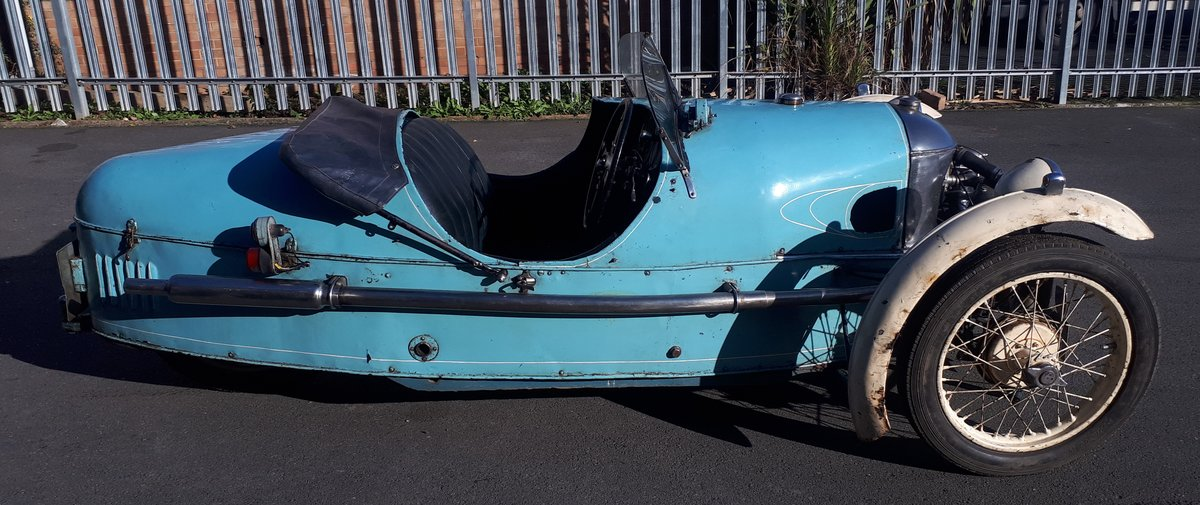 Morgan Three Wheeler Super Aero Lovely Original  For Sale (picture 1 of 6)
