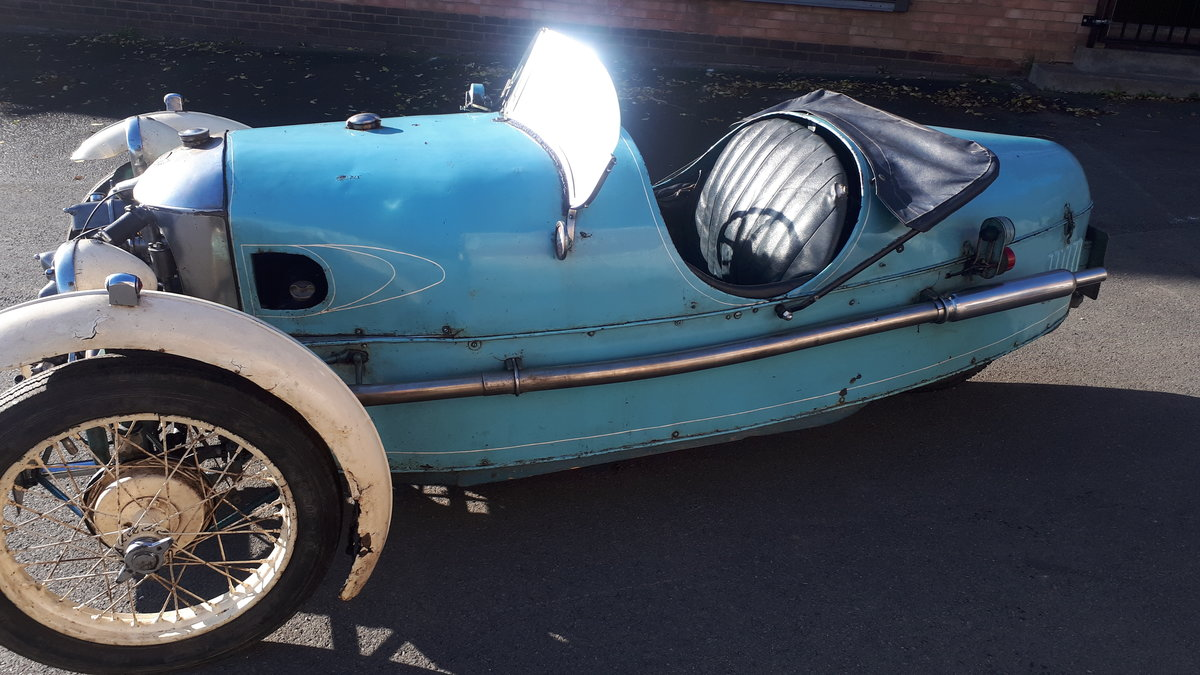 Morgan Three Wheeler Super Aero Lovely Original  For Sale (picture 4 of 6)