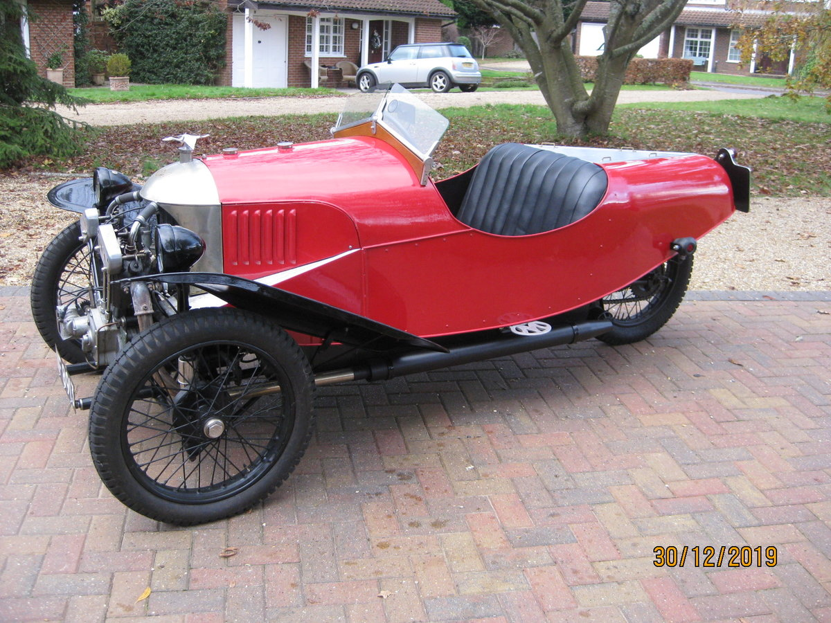 "1927 Morgan 3 wheeler 2 speed Aero with ""dog-eard"" JAP SOLD (picture 1 of 6)"