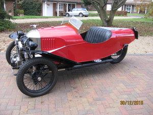 "1927 Morgan 3 wheeler 2 speed Aero with ""dog-eard"" JAP For Sale"