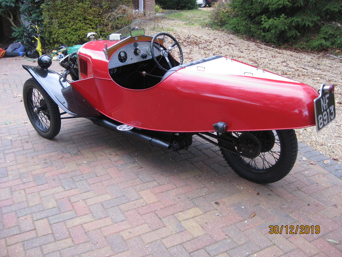 "1927 Morgan 3 wheeler 2 speed Aero with ""dog-eard"" JAP SOLD (picture 5 of 6)"
