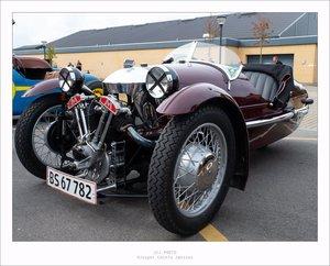 1937 Morgan Super Sport  3 wheeler Barrel Back