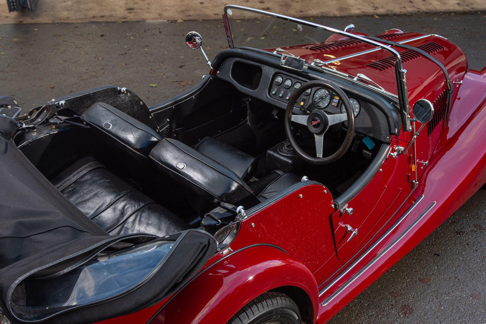 1991 Morgan Plus 4 4 seater For Sale (picture 3 of 6)