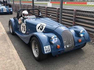 1991 Morgan Plus 8 class J road registered race car.