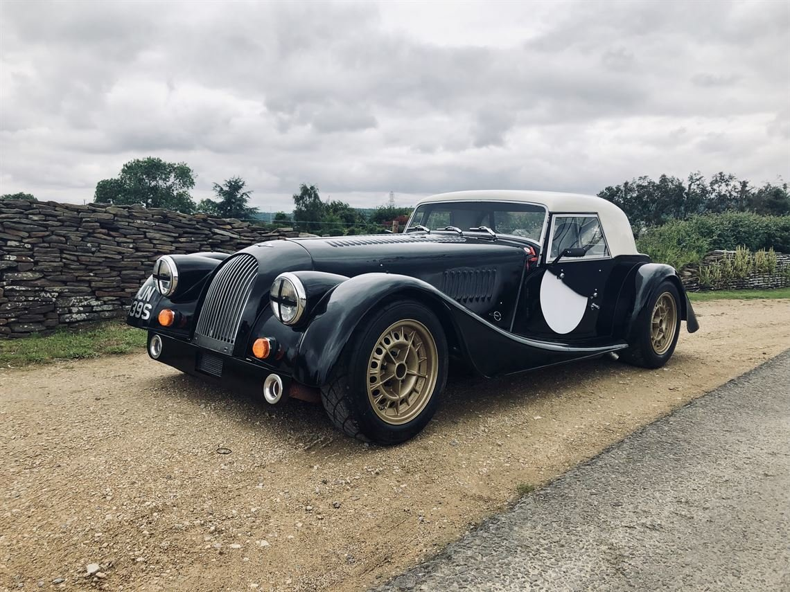 1976 MORGAN +8 LHD Road Registered  FIA Registered For Sale (picture 2 of 6)