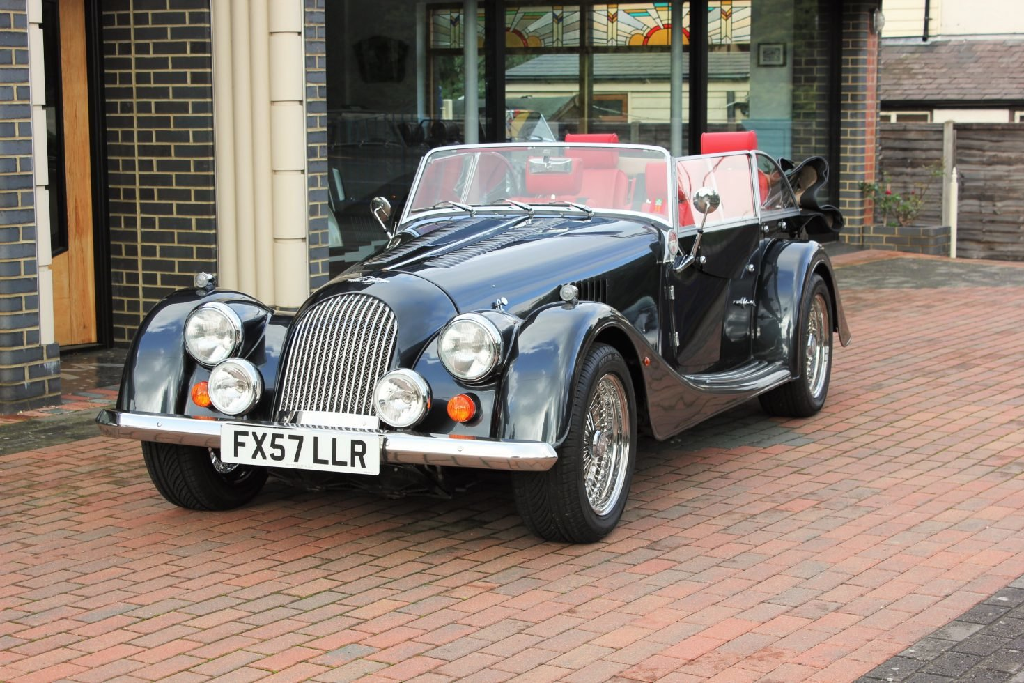 2008 Morgan Roadster V6 4-seater SOLD (picture 1 of 6)