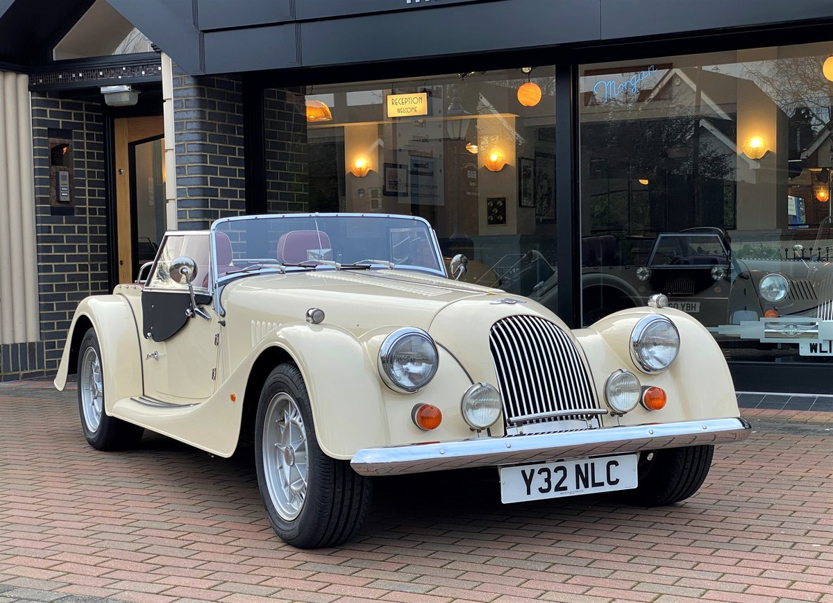 2001 Morgan +8 SOLD (picture 1 of 6)