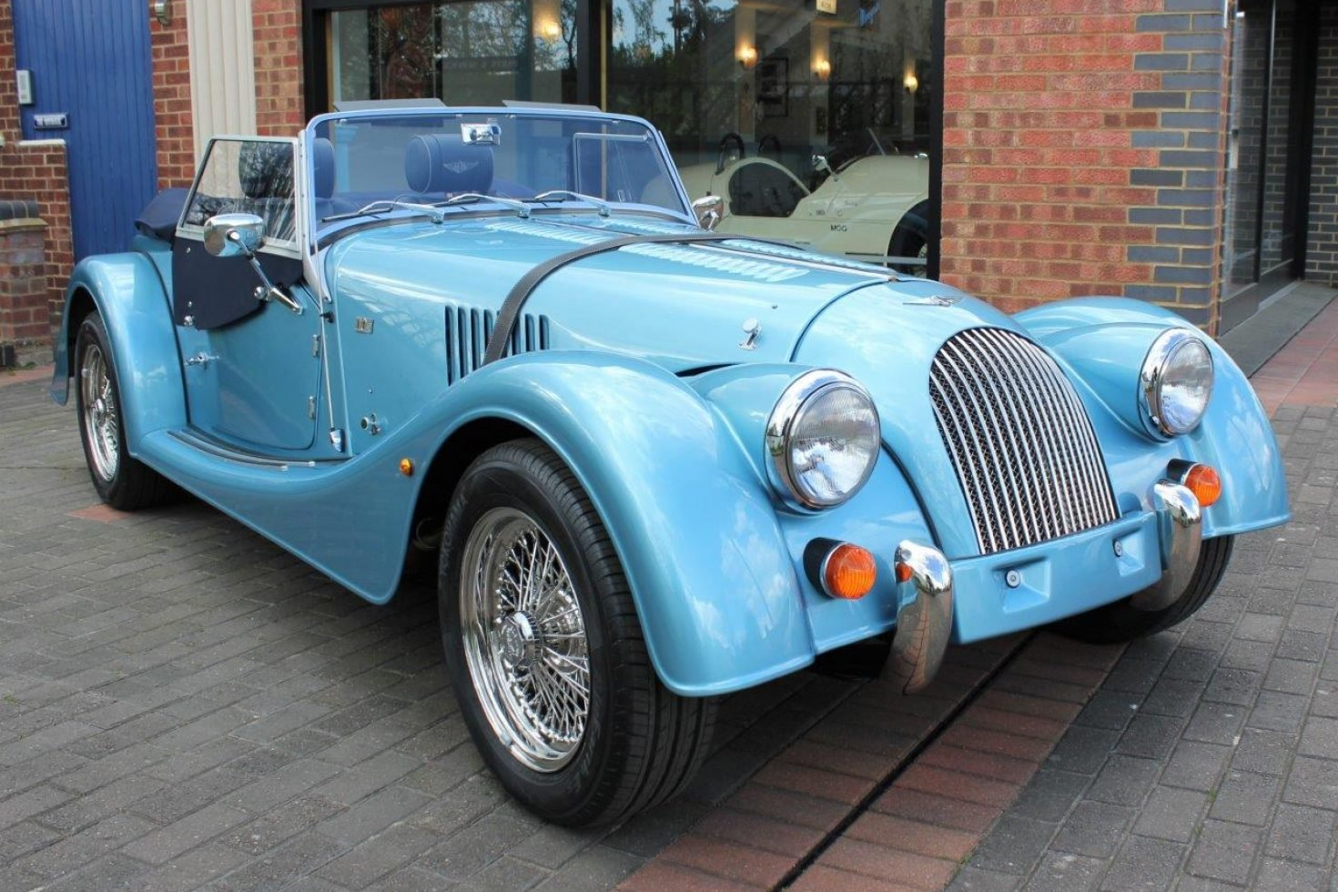 2019 Morgan Plus 4 - NEW car now registered SOLD (picture 1 of 6)