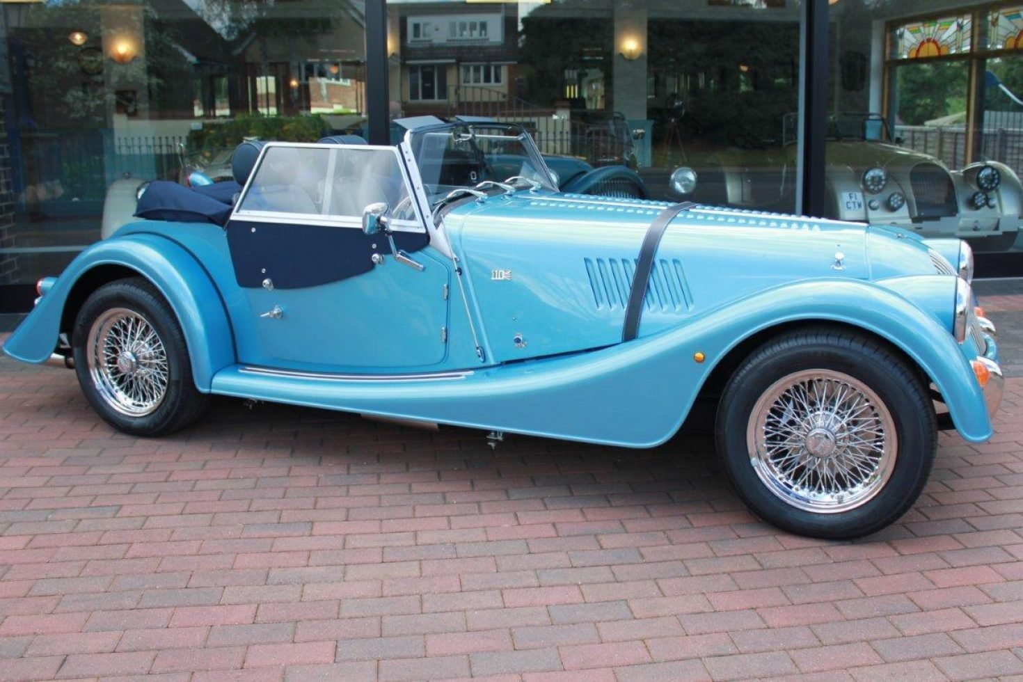 2019 Morgan Plus 4 - NEW car now registered SOLD (picture 3 of 6)