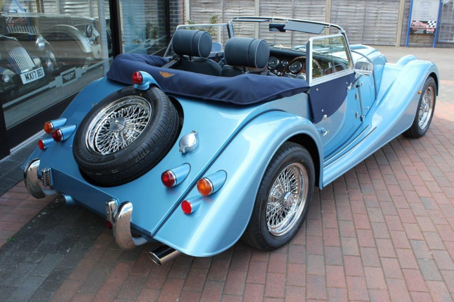 2019 Morgan Plus 4 - NEW car now registered SOLD (picture 4 of 6)
