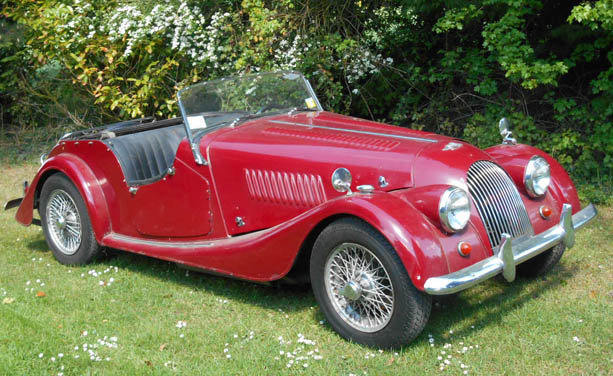 1964 Morgan - 2 seater - Plus 4 - LHD -  For Sale (picture 2 of 6)