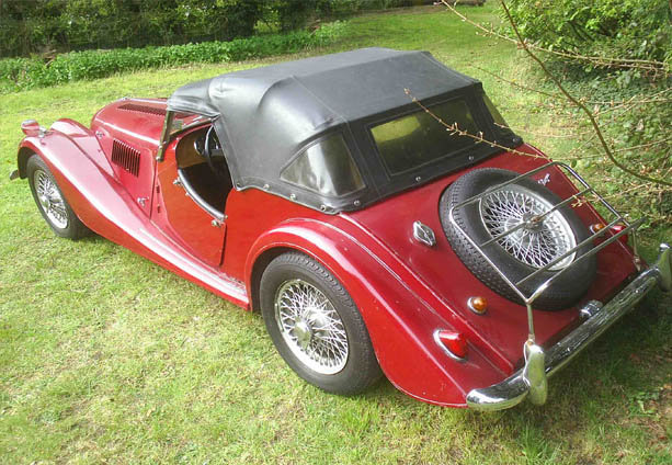 1964 Morgan - 2 seater - Plus 4 - LHD -  For Sale (picture 3 of 6)