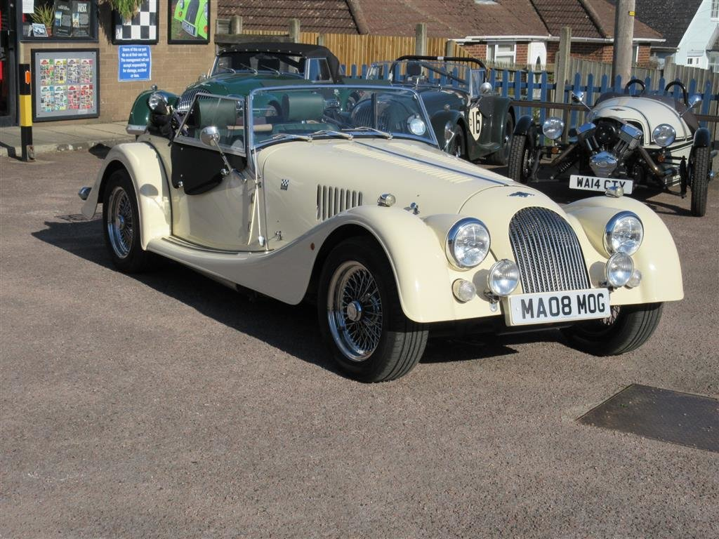 2008 Morgan Plus 4 2 Seater.  For Sale (picture 1 of 6)