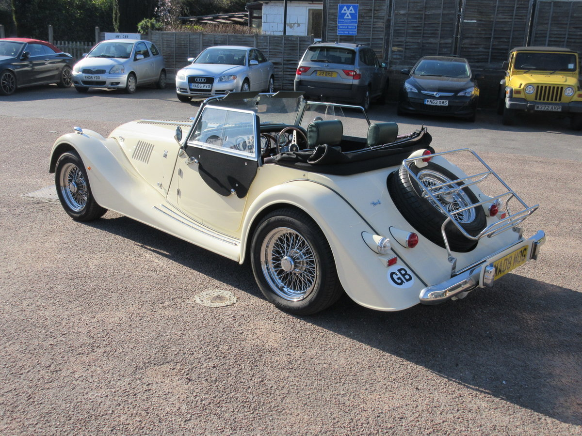 2008 Morgan Plus 4 2 Seater.  For Sale (picture 4 of 6)