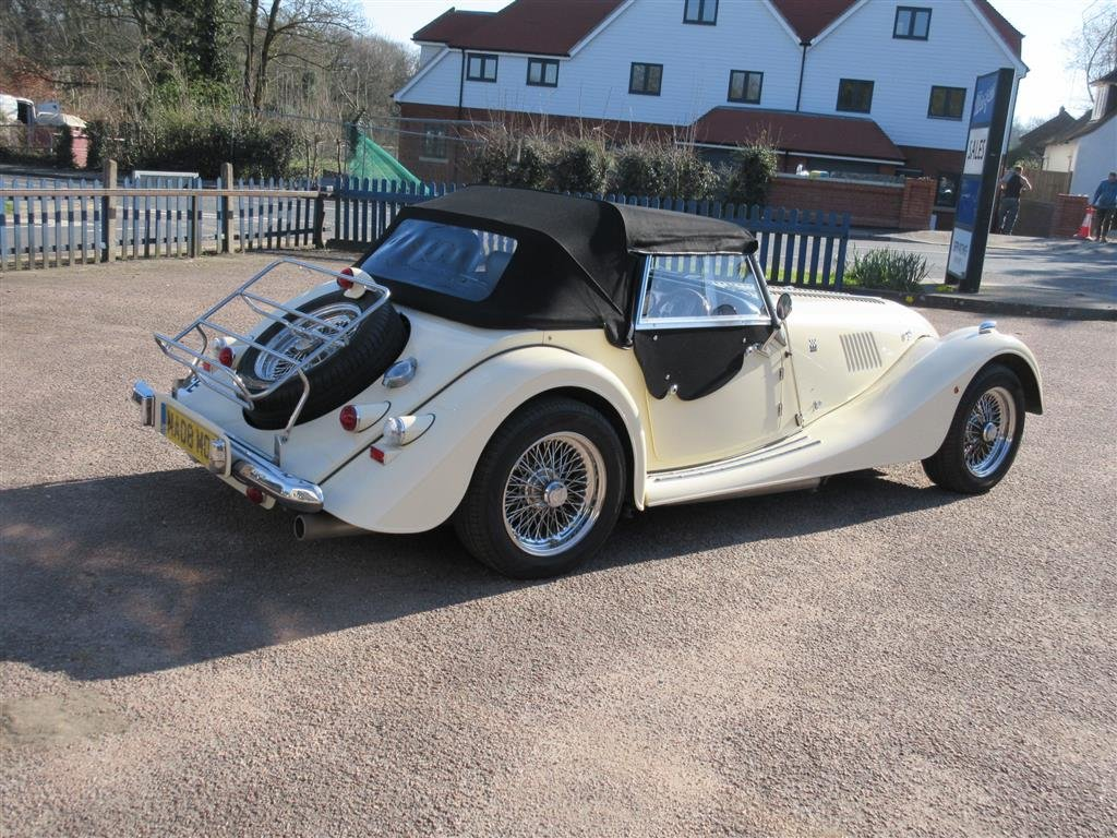 2008 Morgan Plus 4 2 Seater.  For Sale (picture 5 of 6)