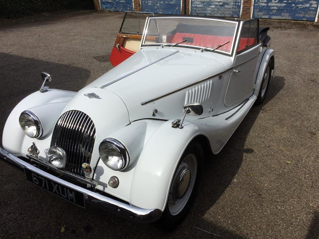 1961 Morgan Plus 4 Coupe.  For Sale (picture 1 of 1)