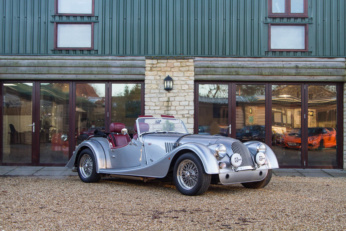 Morgan Plus 4 2015 in Silver with Mulberry Leather For Sale (picture 1 of 6)