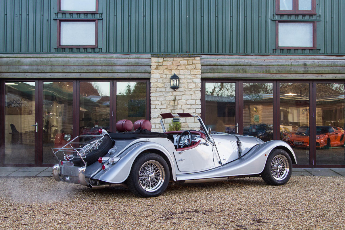 Morgan Plus 4 2015 in Silver with Mulberry Leather For Sale (picture 2 of 6)