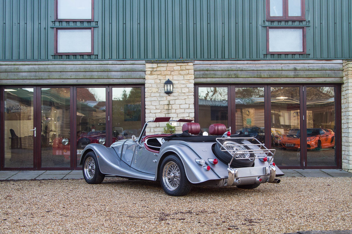 Morgan Plus 4 2015 in Silver with Mulberry Leather For Sale (picture 3 of 6)