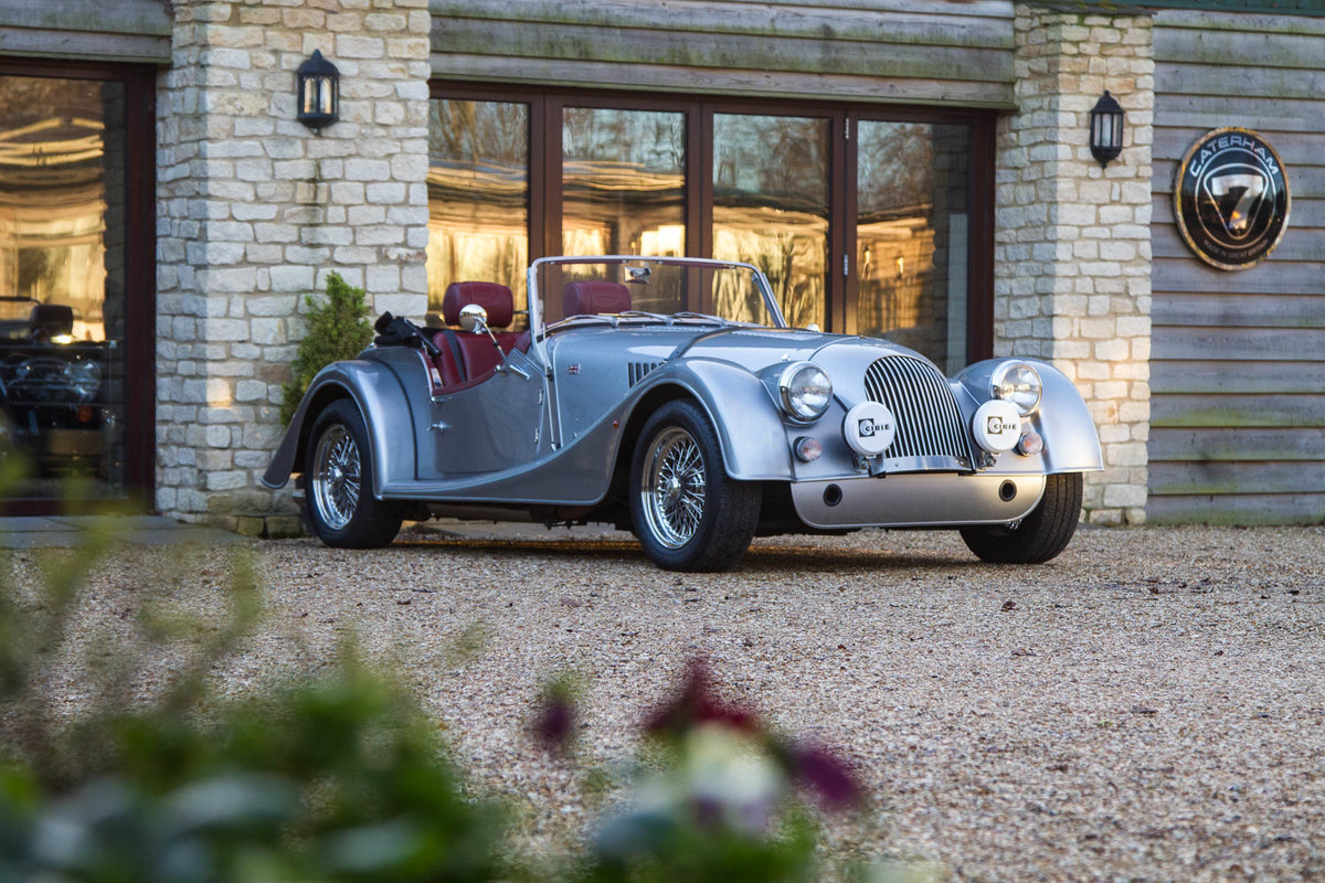 Morgan Plus 4 2015 in Silver with Mulberry Leather For Sale (picture 6 of 6)