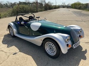 Superb Morgan Race Car