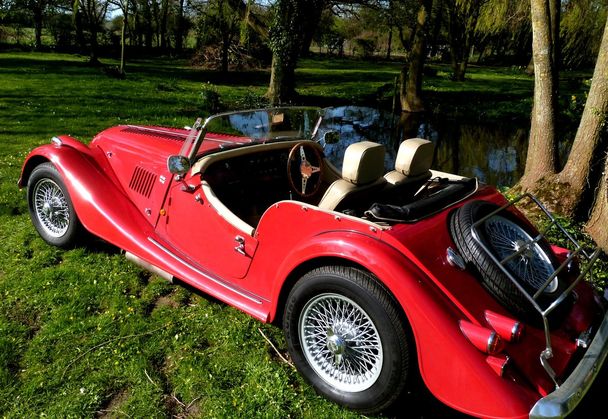 1990 MORGAN 4/4 1600 cc, 5 speed box. SOLD (picture 1 of 6)