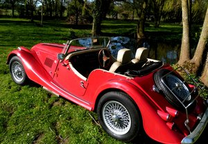 1990 MORGAN 4/4 1600 cc, 5 speed box.
