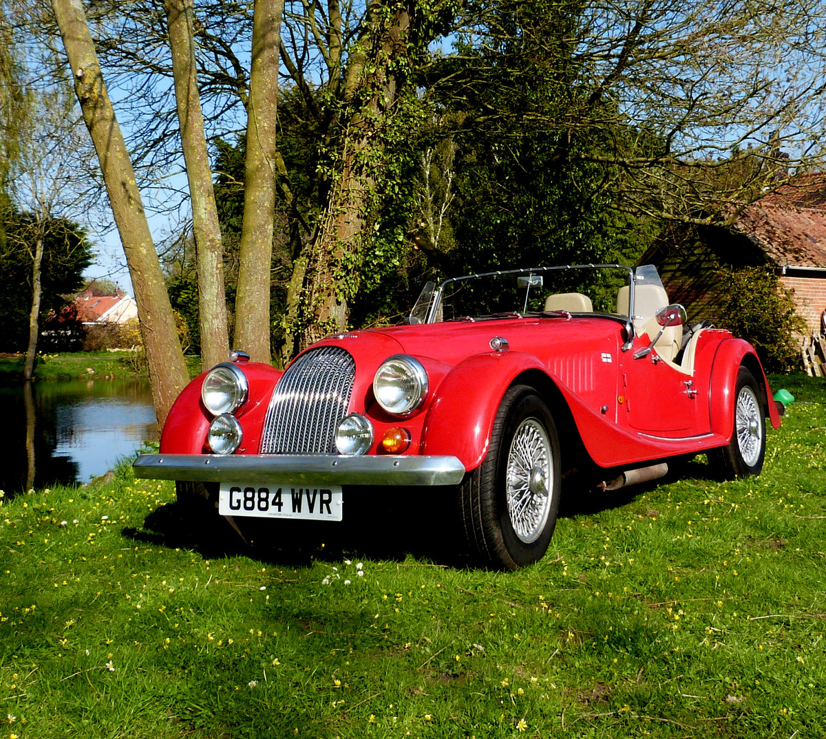 1990 MORGAN 4/4 1600 cc, 5 speed box. SOLD (picture 2 of 6)