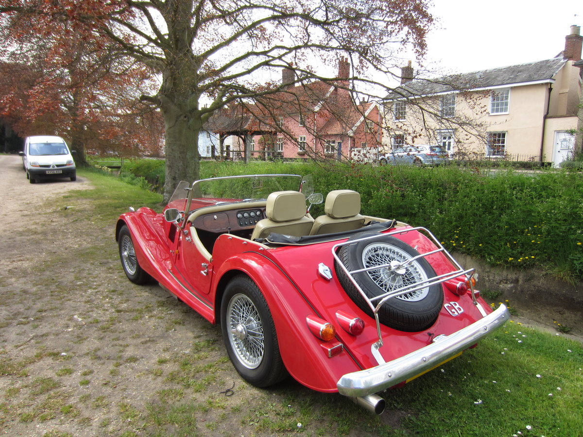 1990 MORGAN 4/4 1600 cc, 5 speed box. SOLD (picture 5 of 6)
