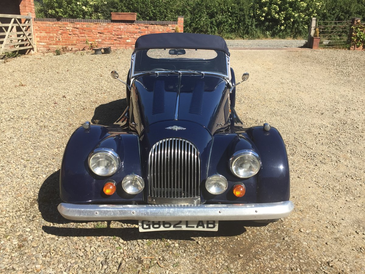 1989 Morgan  Plus 8 Blue   For Sale (picture 1 of 6)
