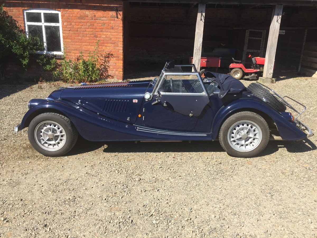 1989 Morgan  Plus 8 Blue   For Sale (picture 3 of 6)