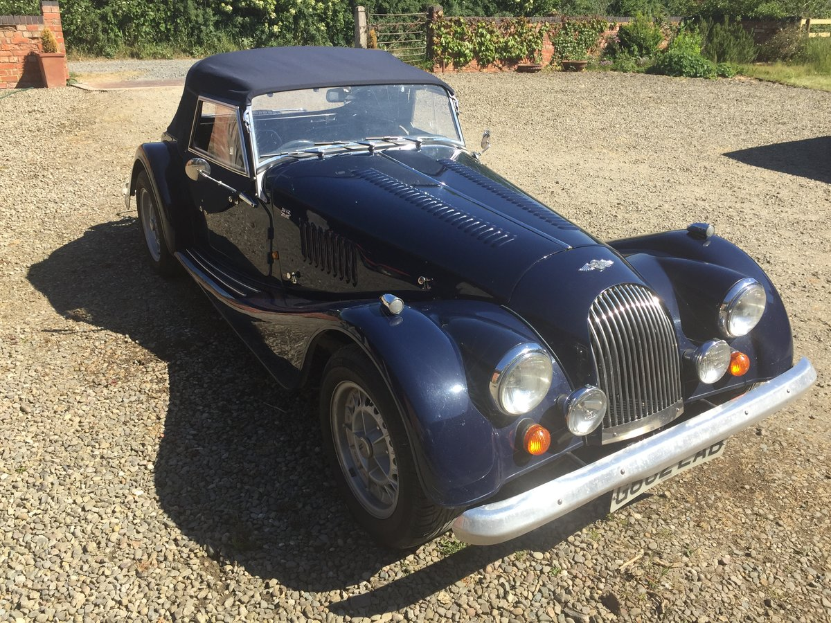 1989 Morgan  Plus 8 Blue   For Sale (picture 4 of 6)