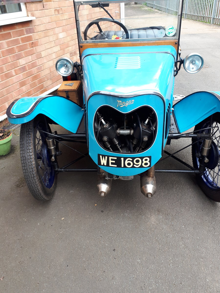1928 Morgan Deluxe Three Wheeler For Sale (picture 1 of 3)