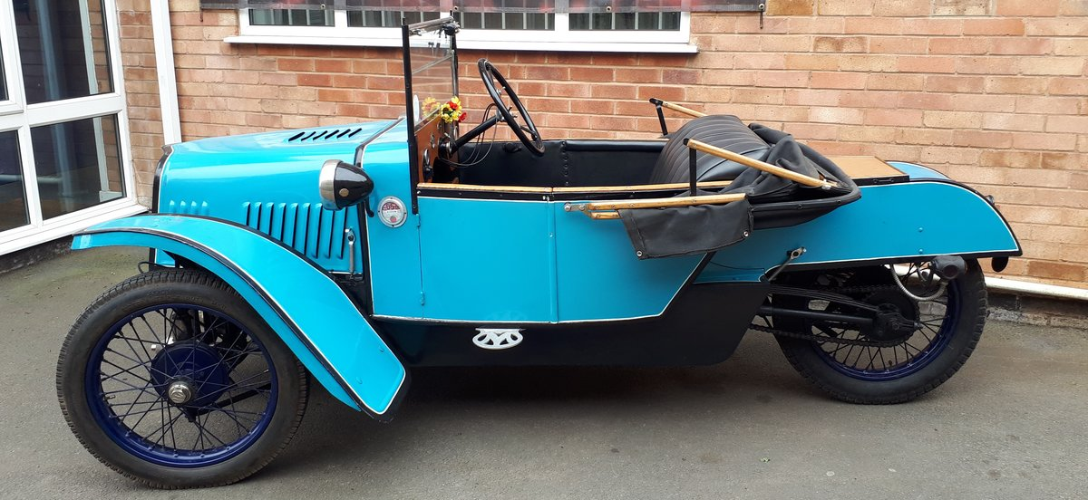 1928 Morgan Deluxe Three Wheeler For Sale (picture 2 of 3)
