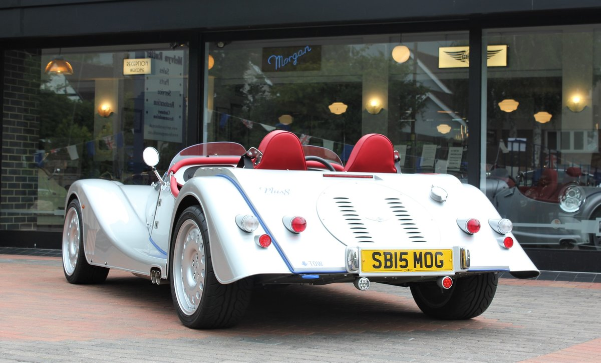 2015 Morgan Plus 8 Speedster For Sale (picture 5 of 6)
