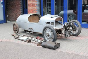 1937 MORGAN 3 WHEELER MX2 SUPERSPORT BARRELBACK – project