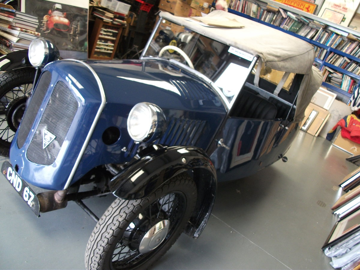 Morgan 3 wheeler 1936 Family Runabout For Sale (picture 1 of 5)