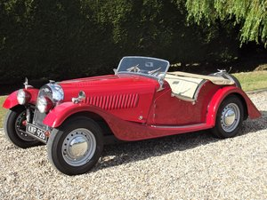 1952 Morgan Plus Four. Flat Rad with period rally history For Sale