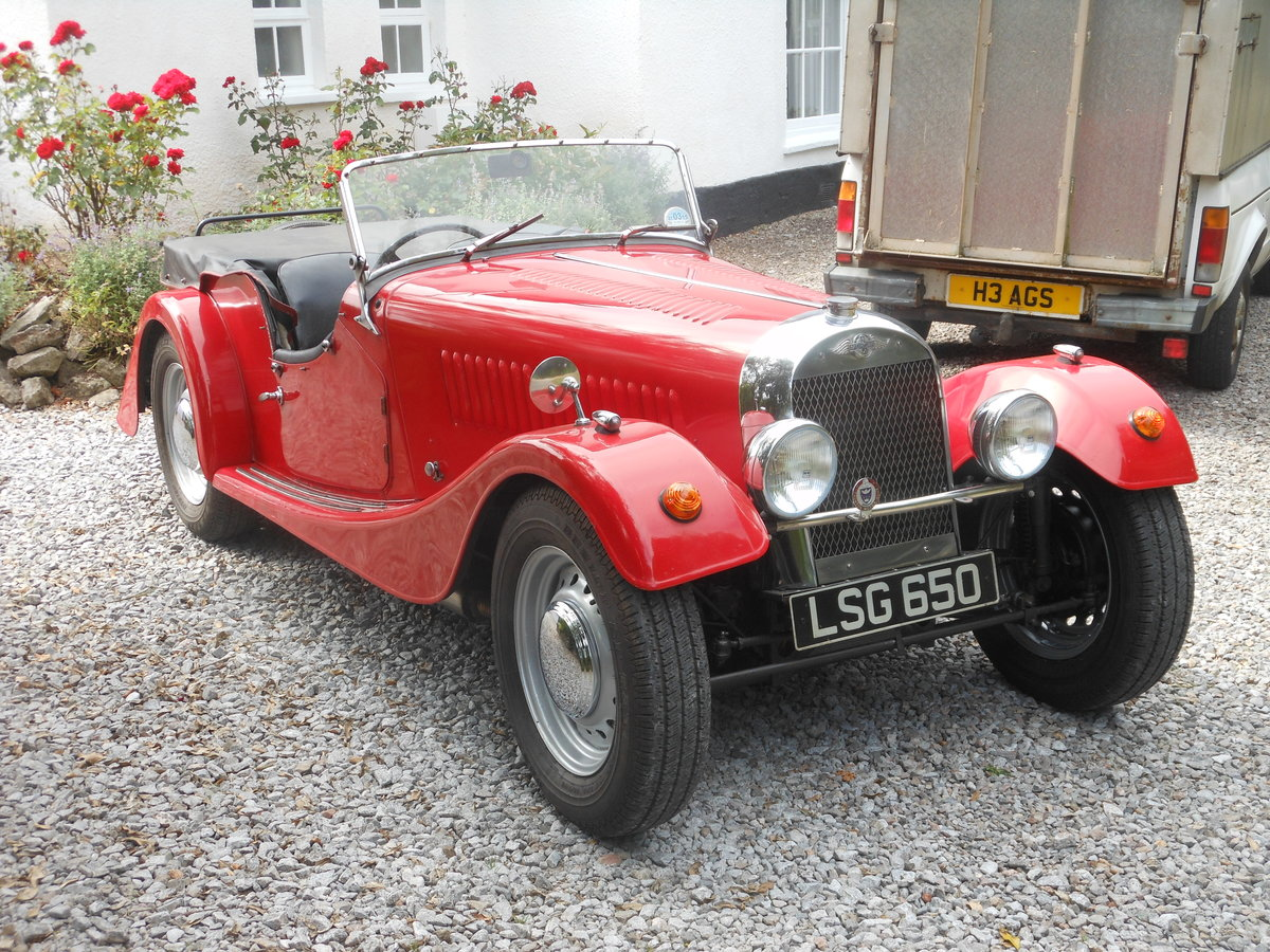 1954 Morgan Plus 4 Flat Rad 4 Seater For Sale (picture 2 of 6)