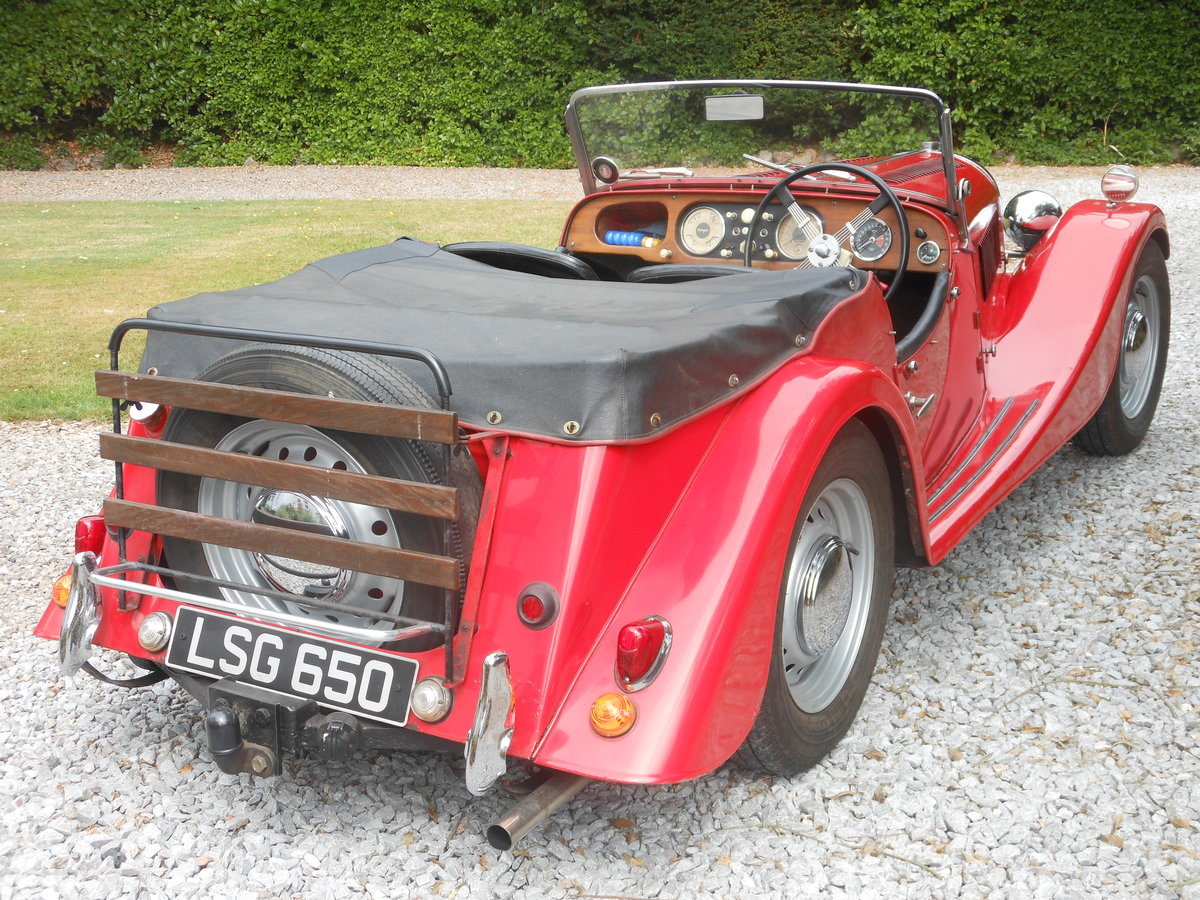 1954 Morgan Plus 4 Flat Rad 4 Seater For Sale (picture 6 of 6)