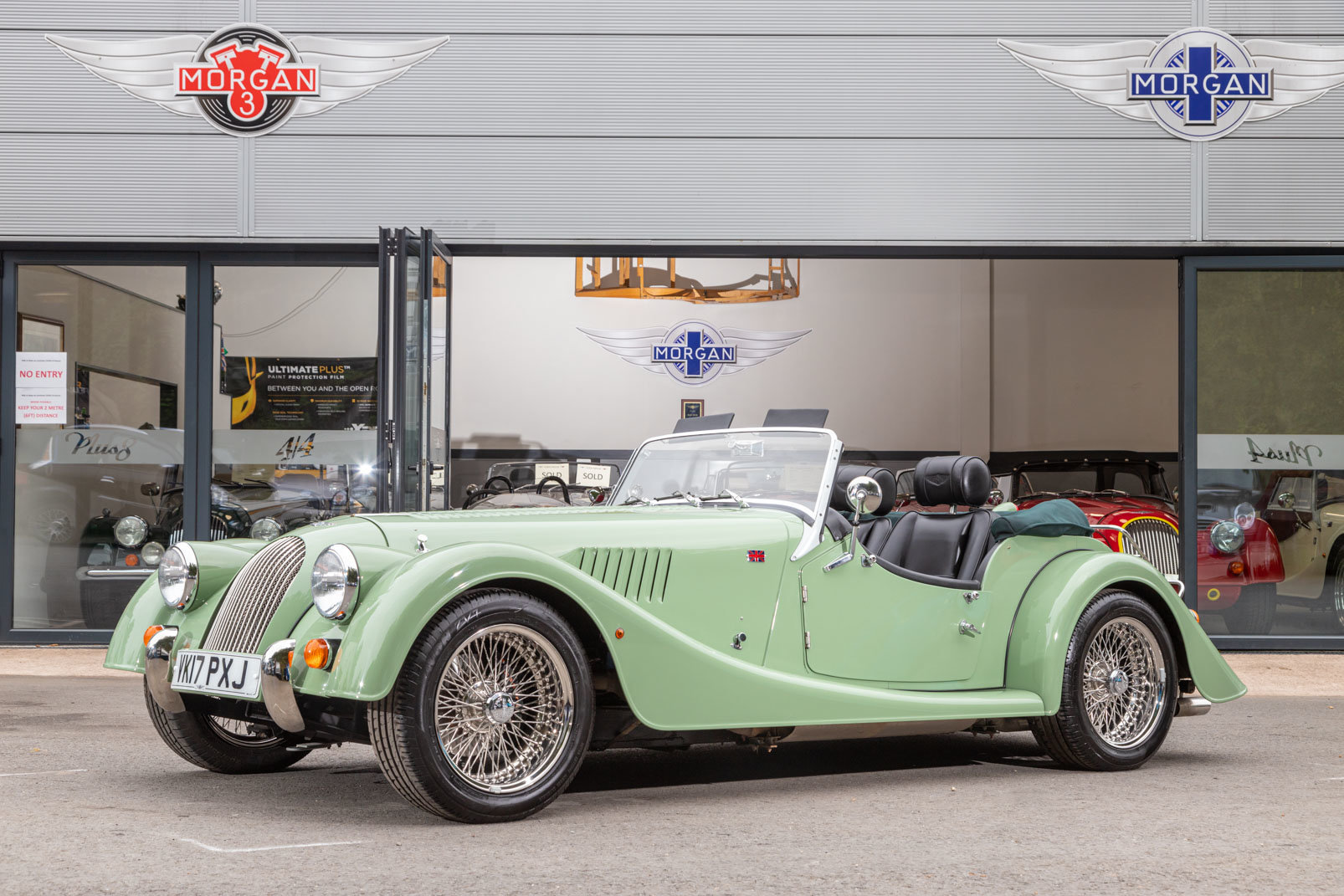 2017 Morgan Roadster 3.7 Ford Cyclone For Sale (picture 1 of 6)