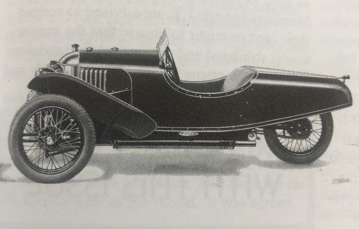 1929 Morgan 3 Wheeler Aero Runabout JAP 1100 LTOW For Sale (picture 1 of 6)