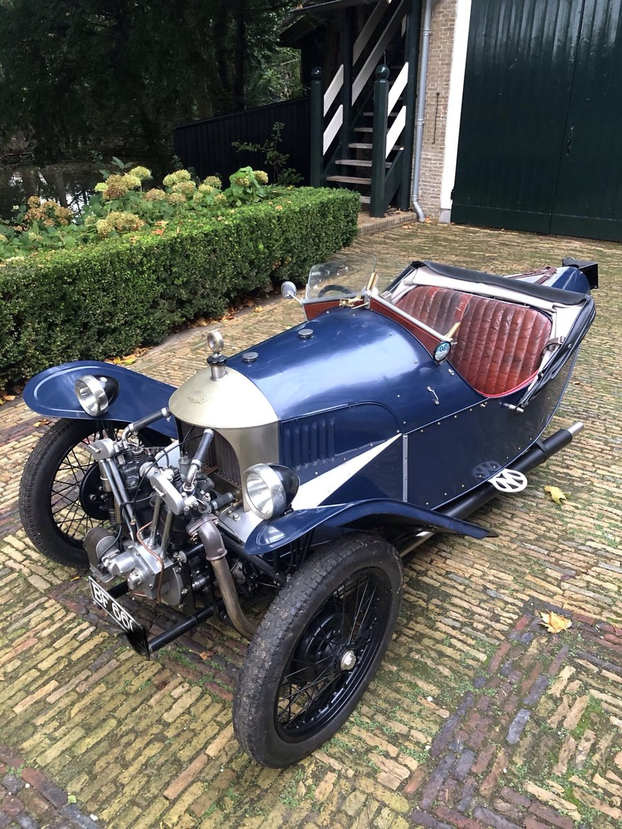 1929 Morgan 3 Wheeler Aero Runabout JAP 1100 LTOW For Sale (picture 2 of 6)