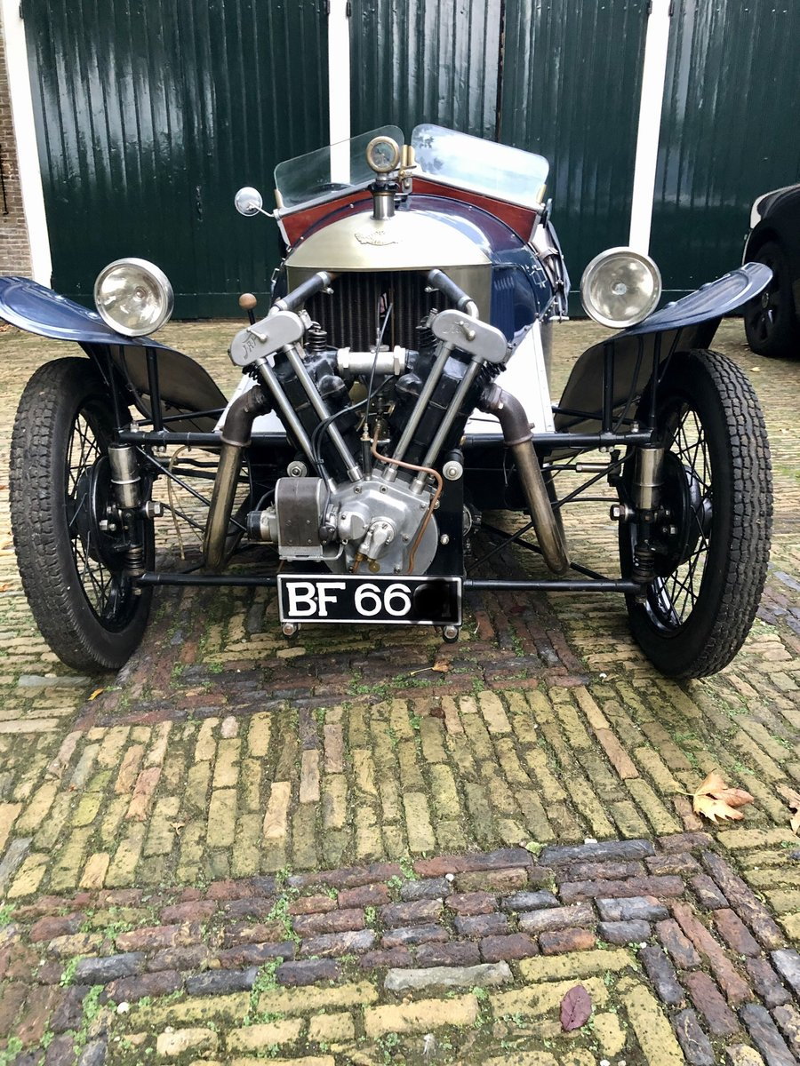 1929 Morgan 3 Wheeler Aero Runabout JAP 1100 LTOW For Sale (picture 3 of 6)
