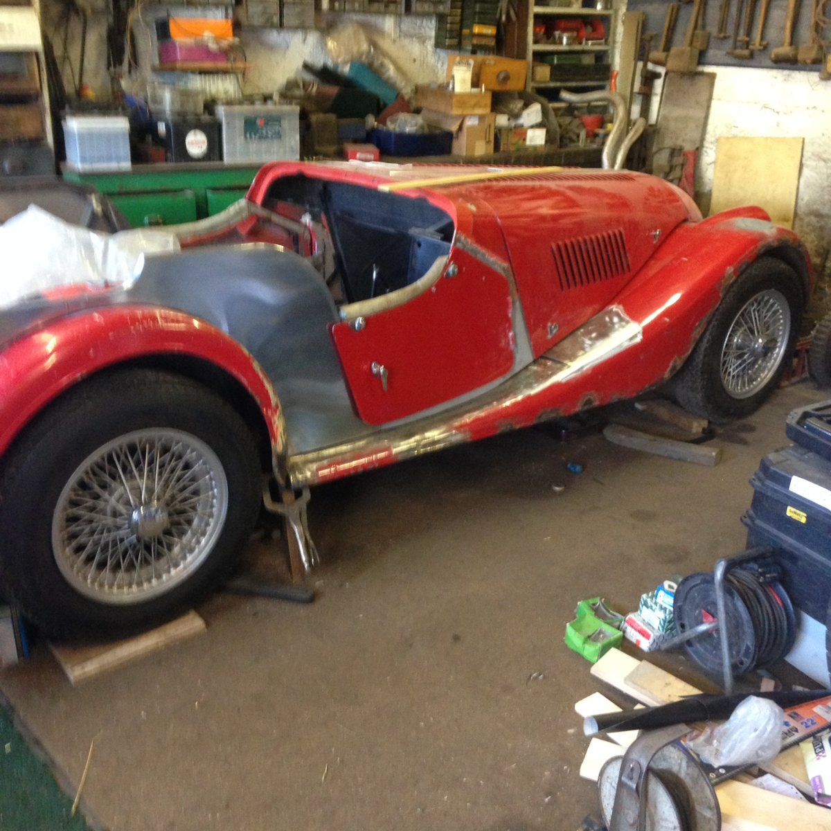1976 Morgan 4/4 unfinished project For Sale (picture 2 of 6)