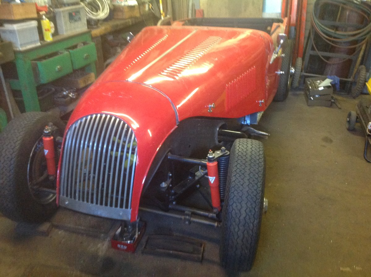 1976 Morgan 4/4 unfinished project For Sale (picture 5 of 6)