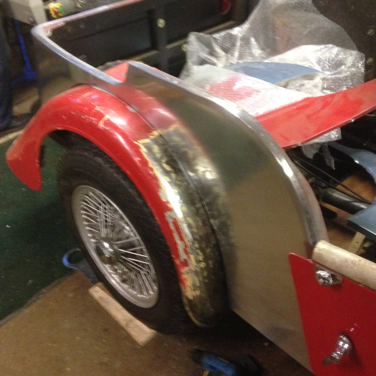 1976 Morgan 4/4 unfinished project For Sale (picture 6 of 6)