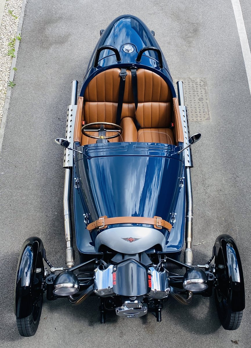 2015 3-Wheeler, Morgan Sports Blue For Sale (picture 1 of 4)