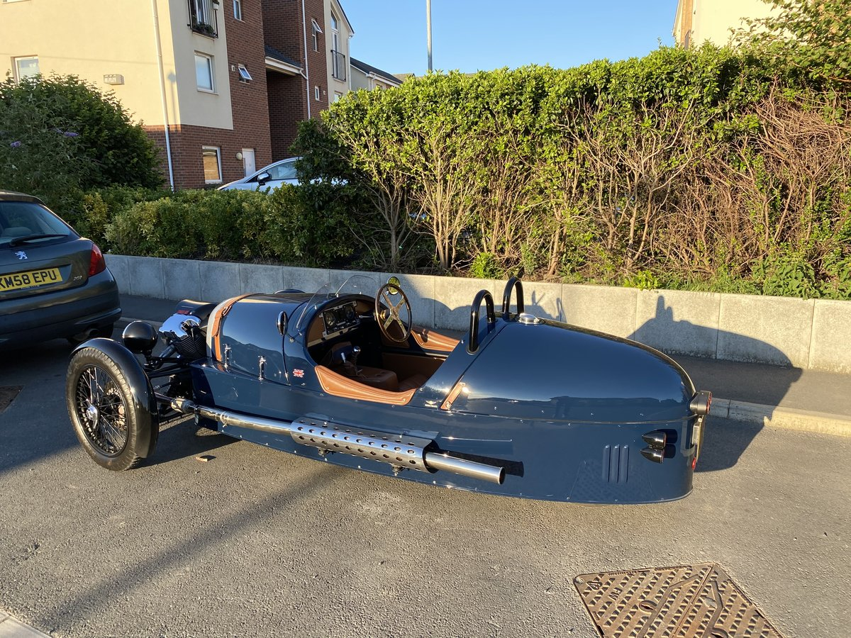2015 3-Wheeler, Morgan Sports Blue For Sale (picture 2 of 4)