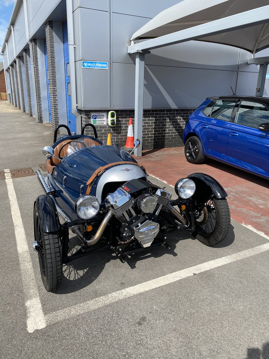 2015 3-Wheeler, Morgan Sports Blue For Sale (picture 3 of 4)